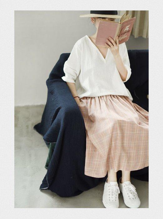 ||一品著衣|| 幼年的我 | 撞色格紋 傘狀A字裙 格子半身裙