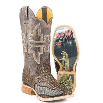 【幫你買】男靴 Tin Haul Men's Swamp Chomp Alligator Print Boots 14-020-0007-0340