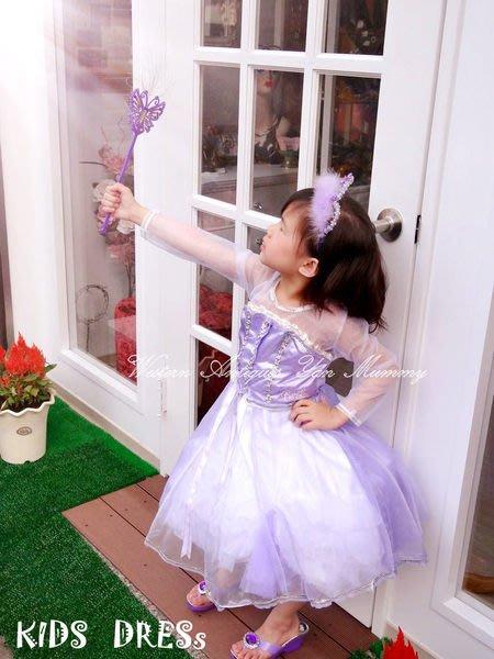 妍媽咪兒童禮服出租~魔幻飛馬紫色芭比公主造型服~萬聖節生日派對