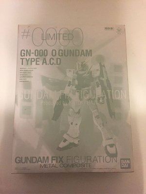 超合金 Gundam Fix Figuration Metal Composite #0000 Limited - GN-000 0 Gundam