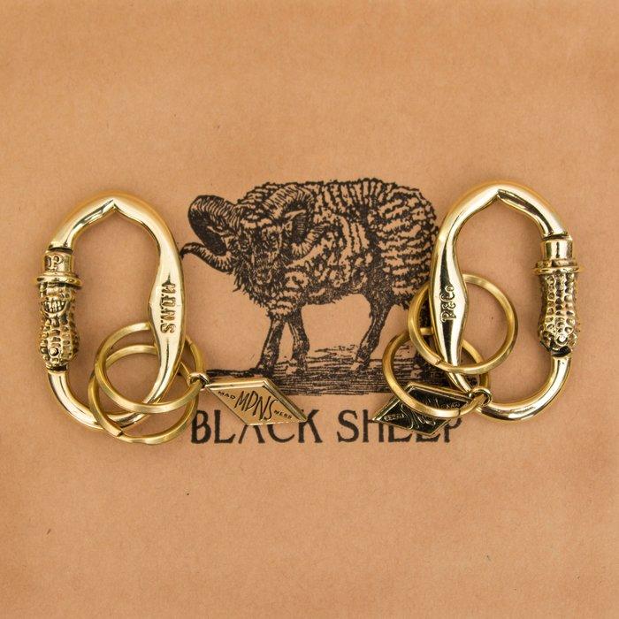 黑羊選物 花生人鑰匙圈 精細復刻 手感扎實 同MADNESS聯名PEANUTS&CO 不掉鑰匙 隨手扣上 花生人 潮流款