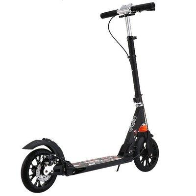現貨/成人滑板車鋁大輪雙減震摺疊二輪上班大童代步車 城市兩輪 igo/海淘吧F56LO 促銷價