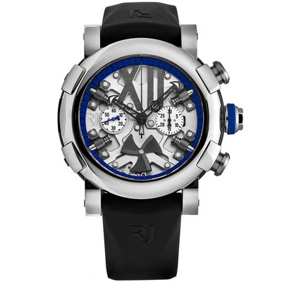 RJ Romain Jerome RJTCHSP.005.02 羅曼杰羅姆 手錶 50mm 機械錶 黑橡膠錶帶 男錶