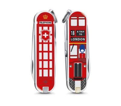 【圓融文具小妹】瑞士 維氏 VICTORINOX 瑞士刀 限量版 58mm 7用 英國倫敦 0.6223.L1808
