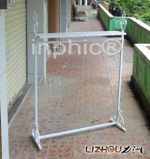 INPHIC-鐵藝服裝架子 展示架 落地服裝架 衣服架 掛衣架 貨架