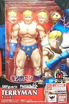 日本正版 萬代 S.H.Figuarts SHF 金肉人 筋肉人 泰利人 可動 公仔 模型 日本代購