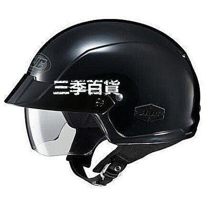三季帶太陽鏡HJC夏季哈雷巡航太子半盔機車安全帽 HJC IS-Cruiser 時尚潮人❖742