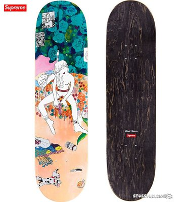 【超搶手】全新正品 2018 秋冬 Supreme bedroom skateboard 藝術風格 首發 滑板