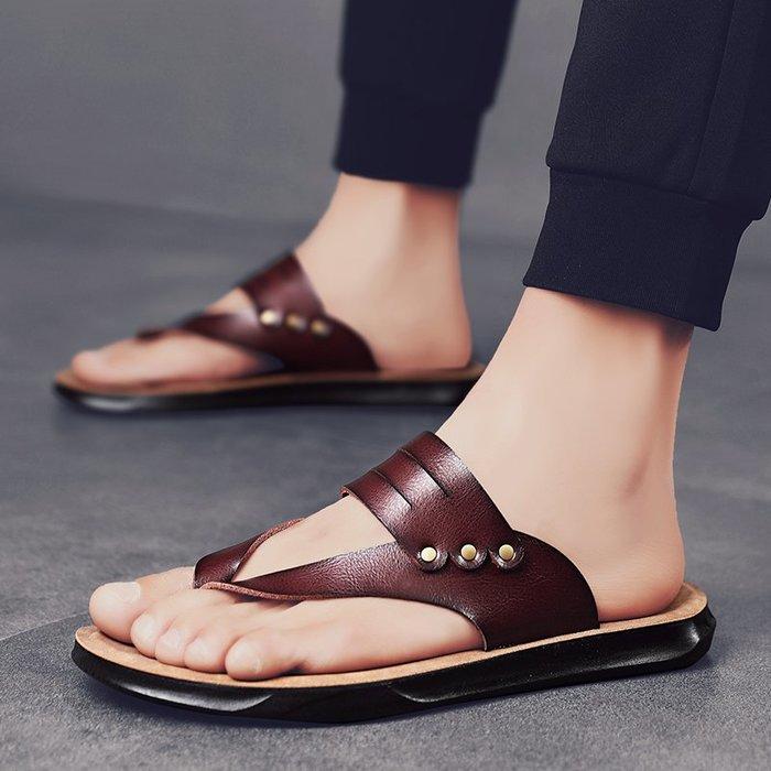 TIME&NES~人字拖2020新款夏季時尚外穿拖鞋男士休閒防滑沙灘鞋潮流涼鞋涼拖