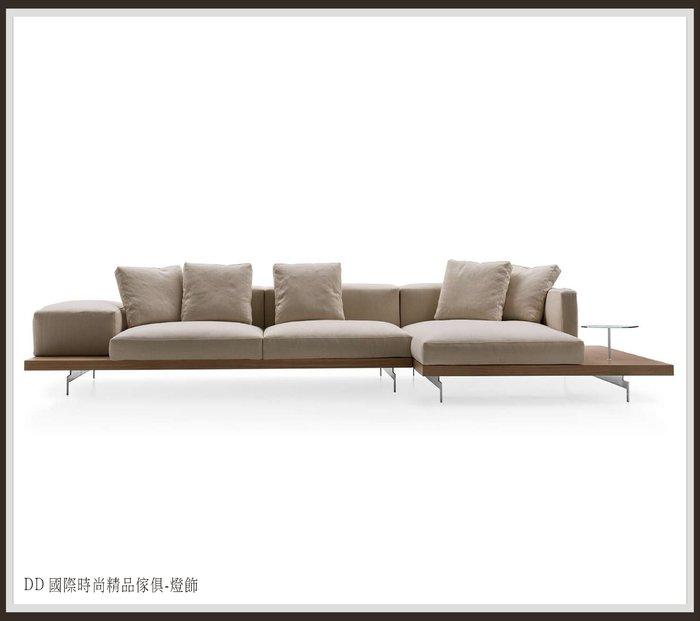 DD 國際時尚傢俱-燈飾 B&B Italia DOCK Sofa L型布沙發比利時進口布 (復刻版)