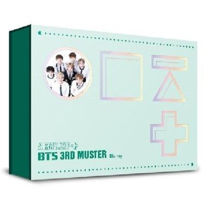 全新防彈少年團 【BTS 3rd MUSTER [ARMY.ZIP+ 】(韓國進口版Blu-ray) 藍光BD