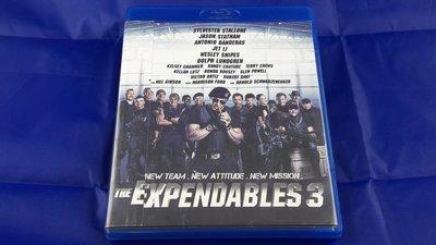 [特價免運]浴血任務3The Expendables 3[星際異攻隊2]席維斯史特龍-台灣正版二手藍光