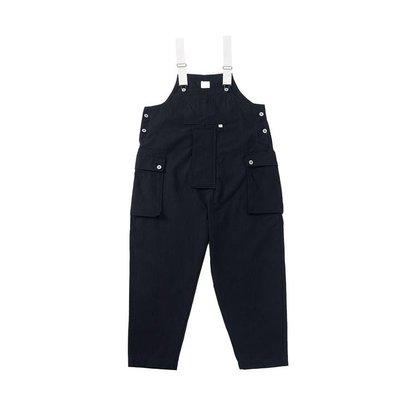 ASUSL   品名 : asusl SS21 MULTI POCKET DUNGAREES 多口袋吊帶工裝褲 顏色 :