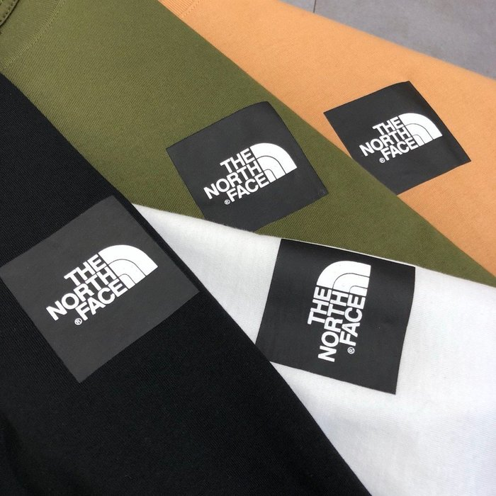 XinmOOn THE NORTH FACE SQUARE LOGO TEE 上衣 短袖 短T 休閒 經典 北臉 男女