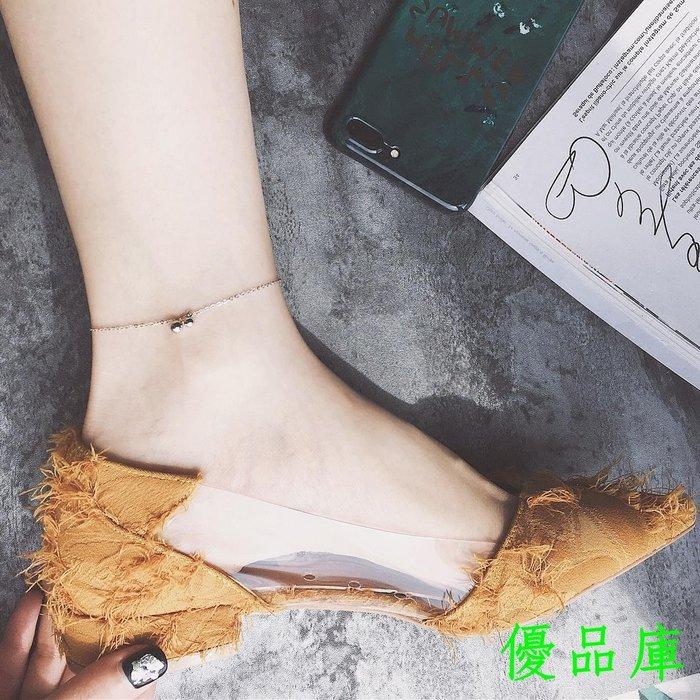 優品庫Noble Lady 推薦925純銀日常款迷你小圓球腳鏈 極簡極細款腳鏈