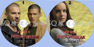 2017犯罪劇DVD:越獄 第五季/越獄重啟劇 全9集 Prison Break 2碟DVD