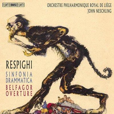 合友唱片 雷史畢基:戲劇交響曲 (約翰.奈許靈, 指揮 / 比利時列日皇家愛樂管弦樂團) SACD