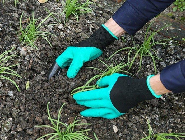【喬尚拍賣】土撥鼠手套 爪子手套 挖土手套 園藝手套