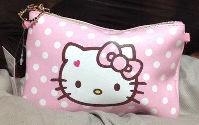 全新Hello Kitty大頭 印花單肩 信封包 拉鍊是kittty頭特別ㄛ