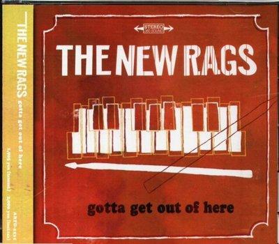 八八 - The New Rags - Gotta Get Out Of Here - 日版+6Bonus