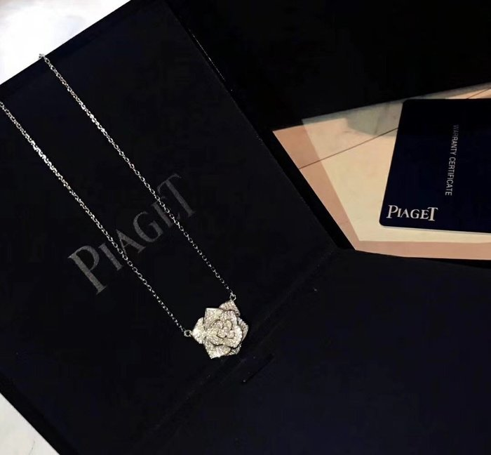 《巴黎拜金女》頂級 925純銀微鑲美國鑽石項鍊