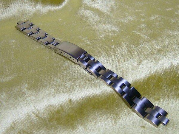 全心全益低價特賣*伊陸發鐘錶*高級女用316L不鏽鋼實心錶帶.壹條299元
