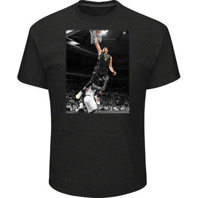 NBA密爾瓦基公鹿隊Majestic Giannis Antetokounmpo Photo Pop TEE短袖T恤