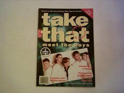 ///李仔糖舊書*1995年英文原版TAKE THAT IN PRIVATE攝影集