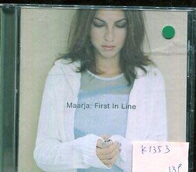 *愛樂二館* MAARJA / FIRST IN LINE 二手 K1353