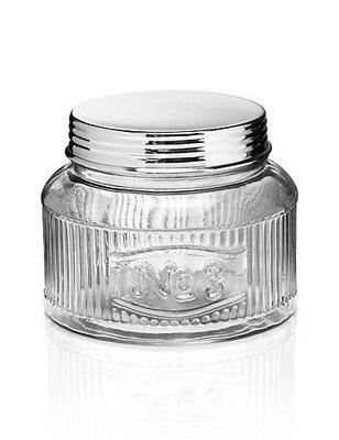 M&S 1884 英國 馬莎居家雜貨 Pressed Glass Rectangular Storage Jar$899