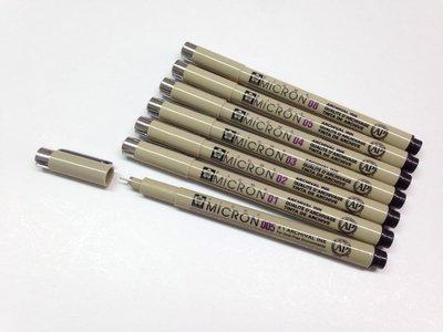 禪繞畫  Sakura 黑色代針筆7支套組