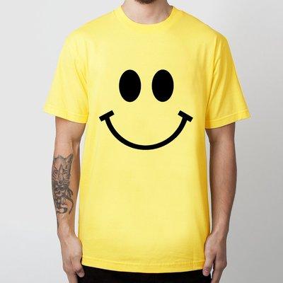Big Smile 大微笑臉短袖T恤  亞版