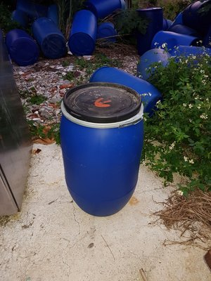 特價中~藍色二手塑膠桶~萬用、廚餘、儲水、發酵桶