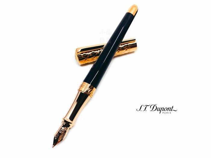 =小品雅集=法國 S.T. DUPONT 都彭 LIBERTE 系列 PINK GOLD/BLACK 黑色玫瑰金蓋 14