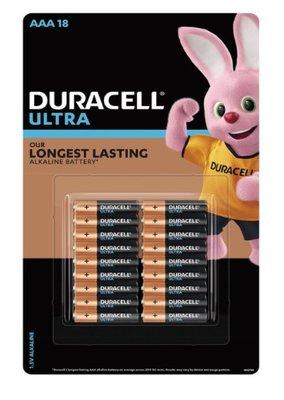 好市多代購-特價至2/18-Duracell 金頂超能量電池4號18入