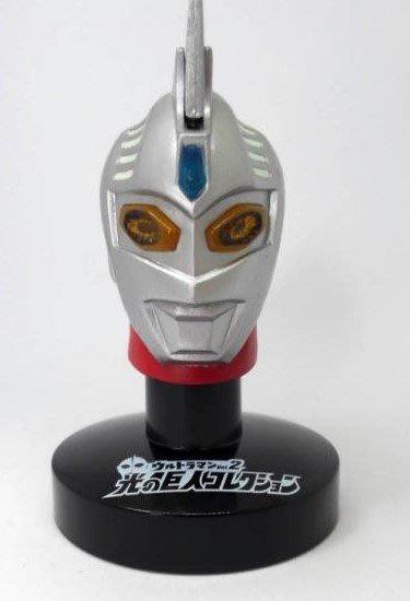 外 E: ULTRAMAN 光的巨人收藏2 超人力霸王 超人七號 頭像   天富玩具店