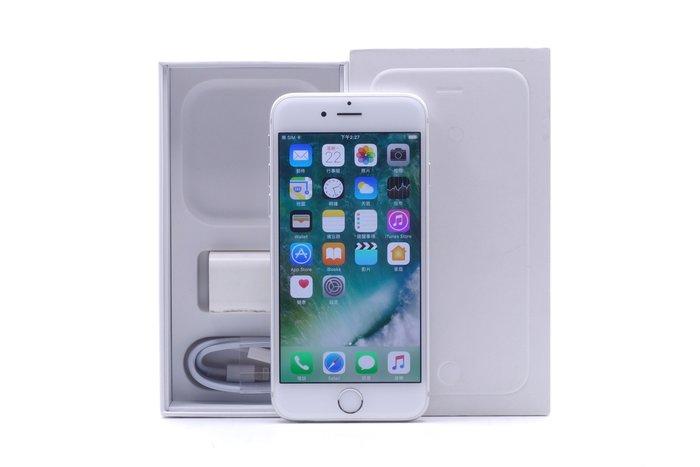 【台中青蘋果競標】Apple iPhone 6 銀 16G 二手 蘋果手機 無底價競標 標多少賣多少 #13459