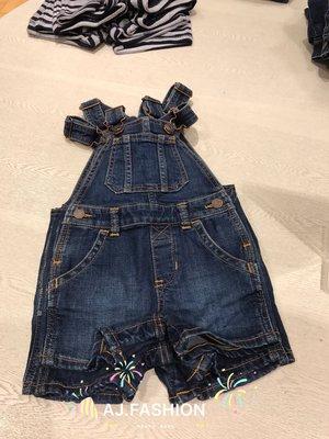 ~AJ.FASHION~  GAP BABY 1969 supersoft denim shirt 吊帶牛仔短褲