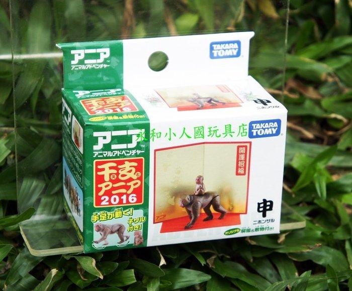 TOMICA多美動物園  猴年快樂_ AN84881 日本TOMY小汽車永和小人國玩具店