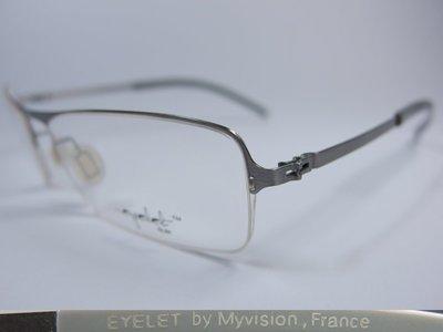 【信義計劃】全新真品 Eyelet 眼鏡 ELS3 金屬方框半框 超輕超越 Silhouette 詩樂 Slights