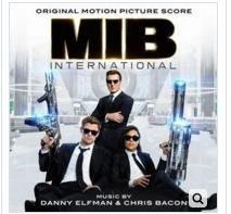MIB星際戰警:跨國行動 電影配樂原聲帶CD,丹尼葉夫曼&克里斯貝肯,進口正版全新108/7/5發行