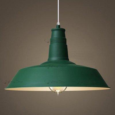 【Lighting.Deco】挑戰全網最低價 工業風RH Loft2 Light meals 鐵藝吊燈 工業吊燈 軍綠色