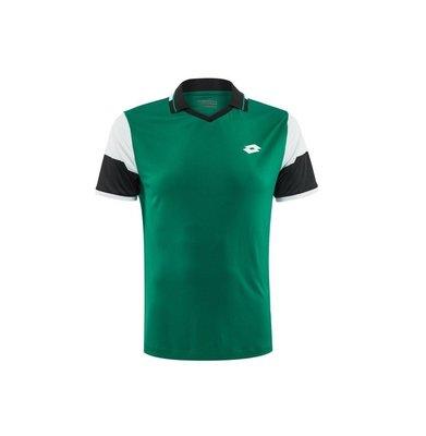 【曼森體育】LOTTO 頂級 網球 T-SHIRT 運動短袖 法網公開賽選手款 吸濕排汗
