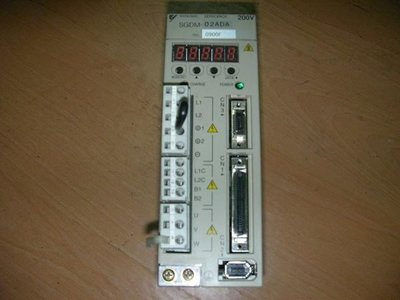(泓昇) 安川 伺服驅動器 Σ-II 200W SGDM-02ADA(PLC,伺服馬達,變頻器)