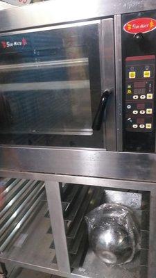旋風烤箱~四盤式三麥公司出品、保固半年……瓦斯專用