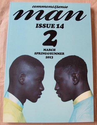 日版高端男性流行時尚雜誌 commons & sense man ISSUE 14 (2013) : 2(TWO)