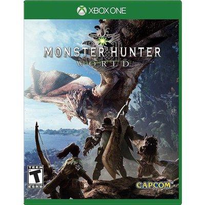 (現貨全新) XBOX ONE 魔物獵人 世界 英日文美版 Monster Hunter: World