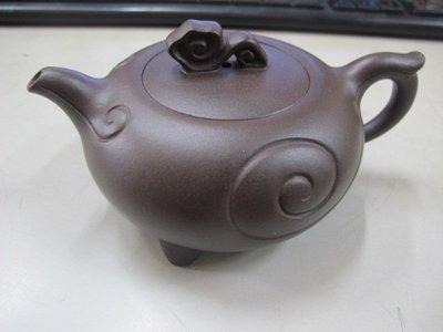 二手舖 NO.3834 中國宜興 紫砂壺 名家工藝美術師 茶壺 土胎好 手工細膩 值得收藏