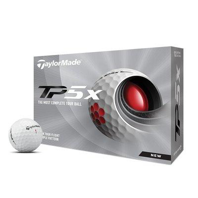 """青松高爾夫2021""""TaylorMade TP5x Golf Balls  (12/DZ)  五層球 $1500元"""