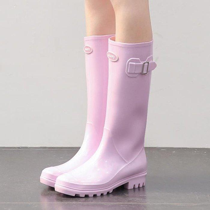 雨鞋女高筒水靴女士水鞋靴防滑套鞋膠鞋